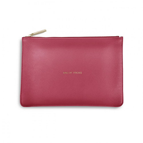 Katie Loxton Pink Bag of Tricks Perfect Pouch