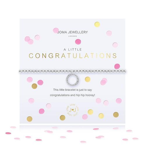 Joma A Little Congratulations Bracelet With Confetti