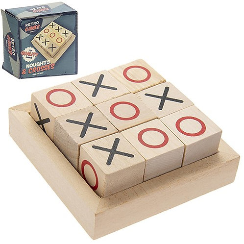 Retro Noughts and Crosses Game