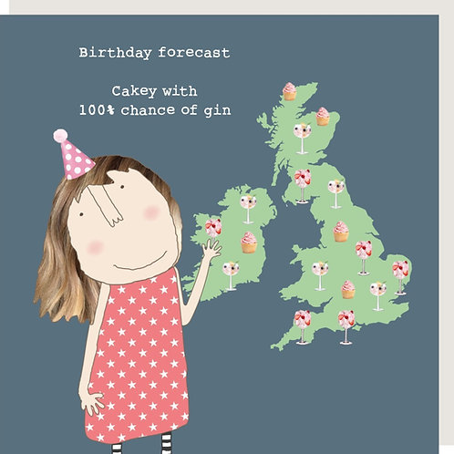Birthday Forecast Card