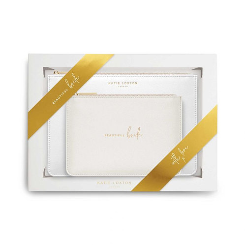Katie Loxton Bride Perfect Pouch Gift Set