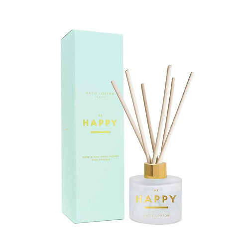 Katie Loxton Sentiment Reed Diffuser Be Happy