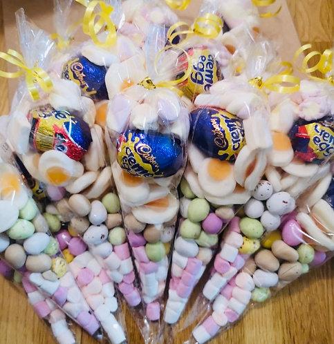 Mini Egg Sweet Cones