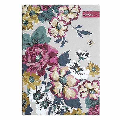 Joules Cambridge Floral Slim A4 Notebook