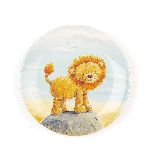 Jellycat Very Brave Lion Melamine Plate