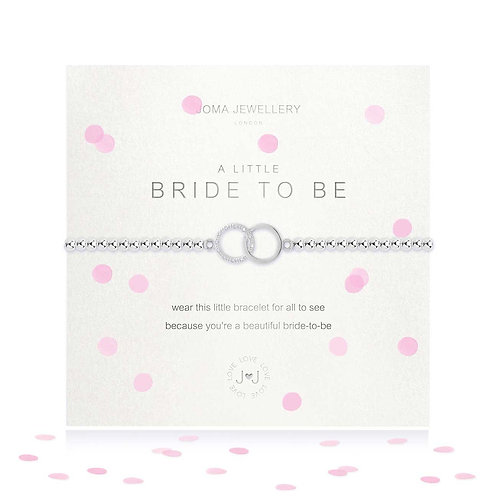 Joma A Little Bride To Be Bracelet With Confetti