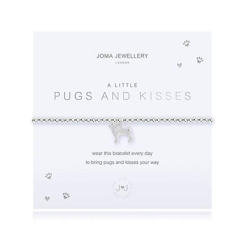Joma A Little Pugs and Kisses Bracelet