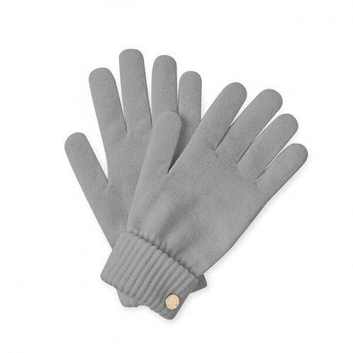 Katie Loxton Grey Chunky Knit Gloves
