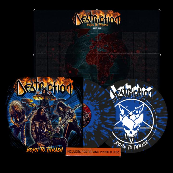 Destruction - Born To Thrash (Live In Germany) Double LP Vinyl