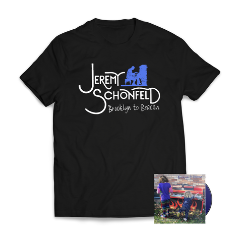 Jeremy Schonfeld - Brooklyn to Beacon CD & T-Shirt