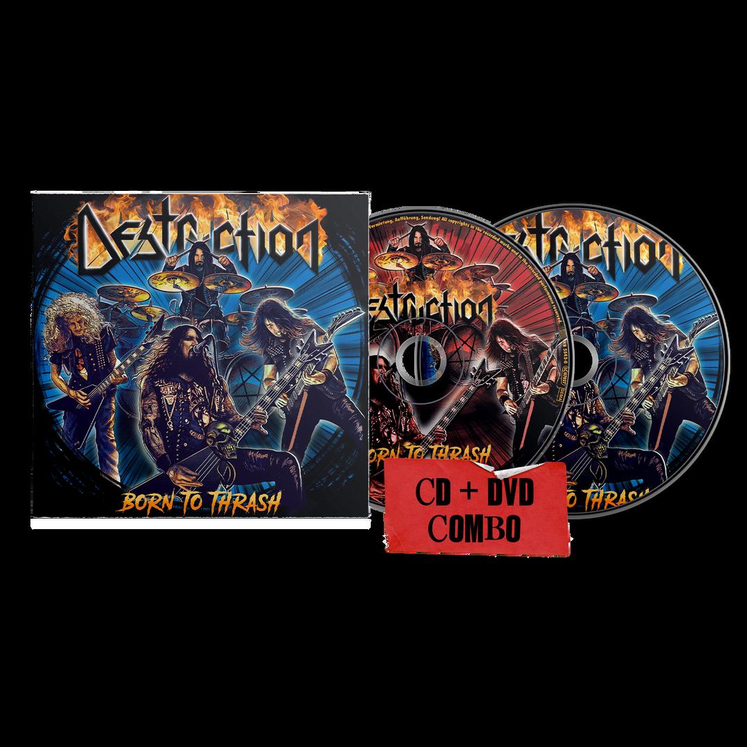 Destruction - Born To Thrash (Live In Germany) CD + DVD Combo