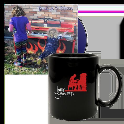 Jeremy Schonfeld - Brooklyn to Beacon CD & Mug