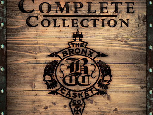 THE BRONX CASKET CO. The Complete Collection. (PRESS: KNAC.com PURE ROCK)
