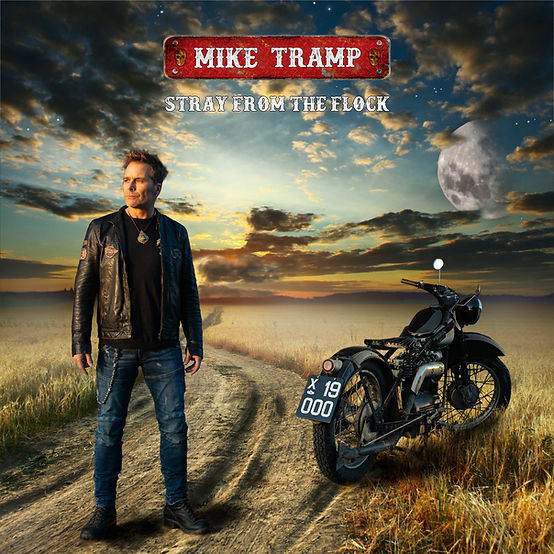 Mike Tramp - Stray From The Flock COVER.