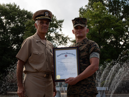 From Monarch to Commissioned Marine