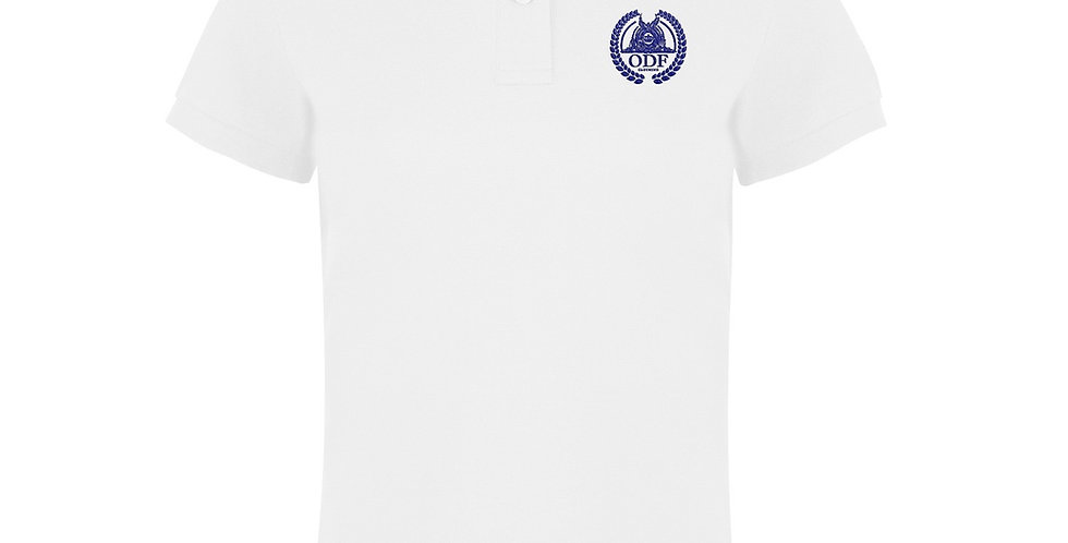 Women's Classic Fitted White Polo