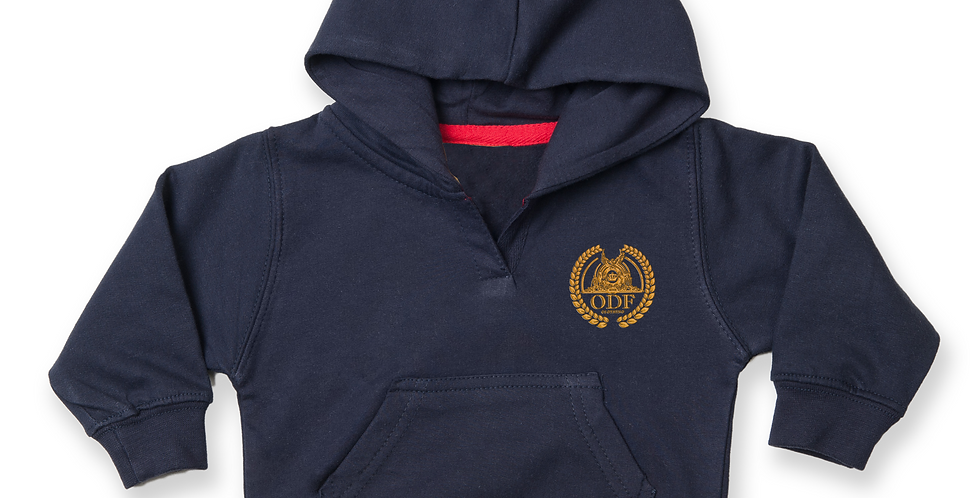 NAVY BLUE COTTON TRACKSUIT - KIDS