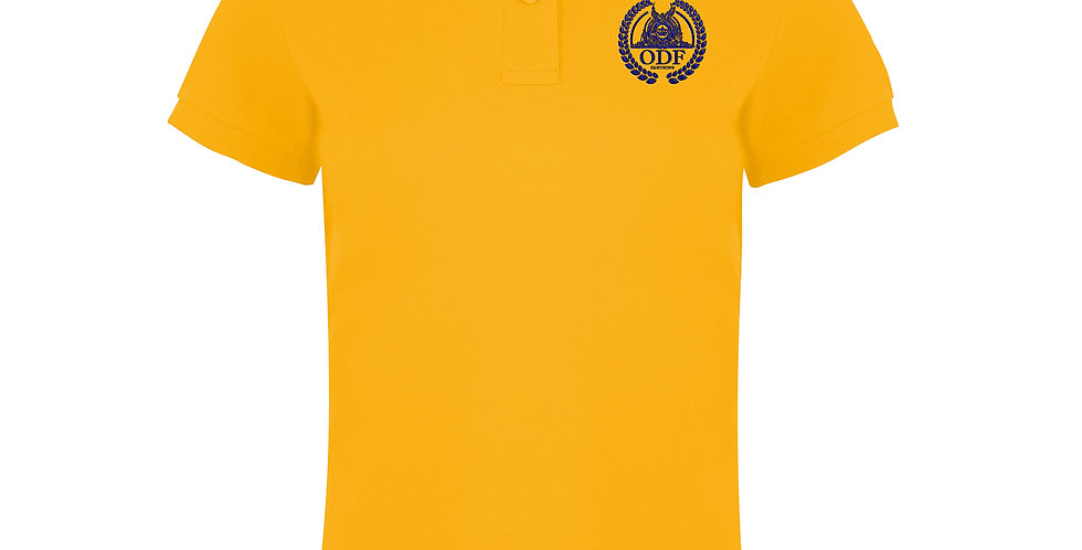 Women's Classic Fitted Yellow Polo