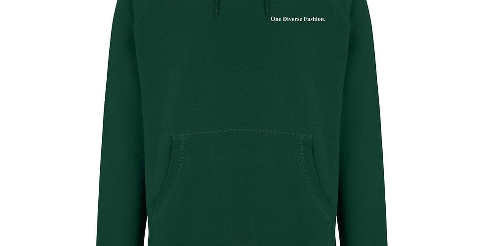 Bottle Green ODF Definition Pullover Hoodie