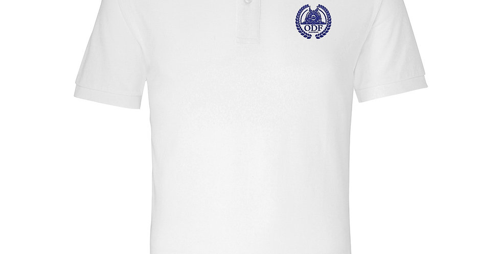 WHITE CLASSIC POLO - MEN'S