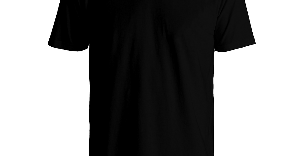 LESS IS MORE COTTON-JERSEY T-SHIRT (BLK)