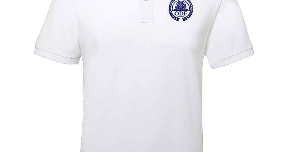 White Edge Hill Cotton Stripe Polo - MEN'S