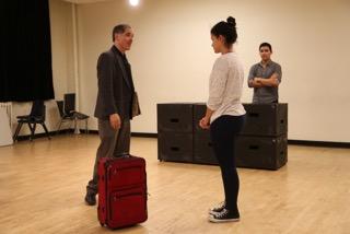 "Rehearsing ""Mauritius."""
