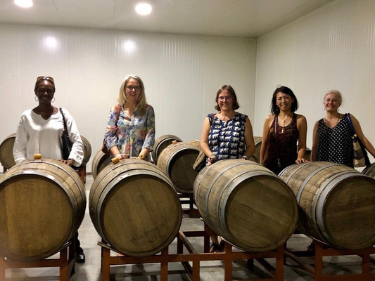 The Bring Your Own Barrel party at the Vineyard