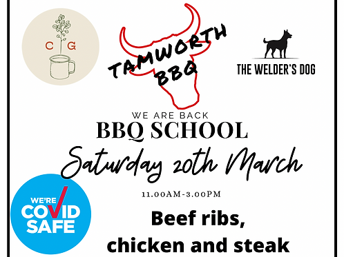 BBQ Cooking School March 20th