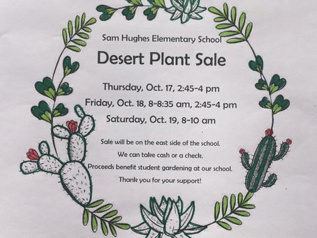 Desert Plant Sale