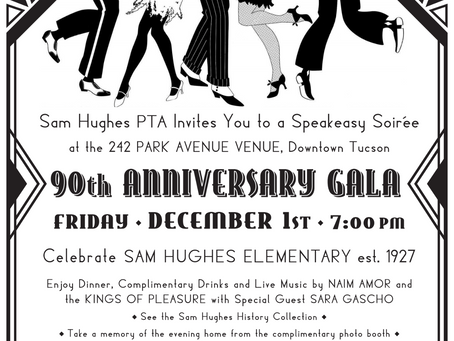 90th Anniversary Gala Set For December 1