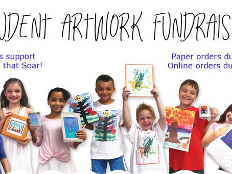 Student Artwork Fundraiser