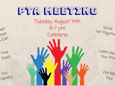 PTA Meet, Greet & Eat!