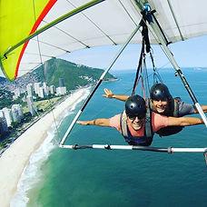 Asa Delta Praia de Sao Conrado - Rio de Janeiro - Brasil