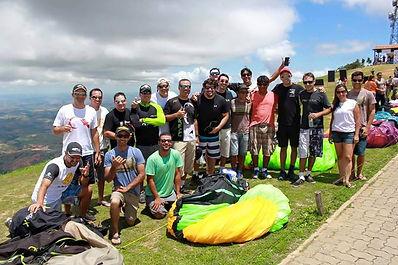 Trip de Parapente com a Equipe ActionFly