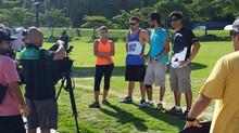 Gravação do primeiro episódio da série de TV - Enjoy in Rio.