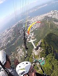 Voo Duplo de Parapente no Rio