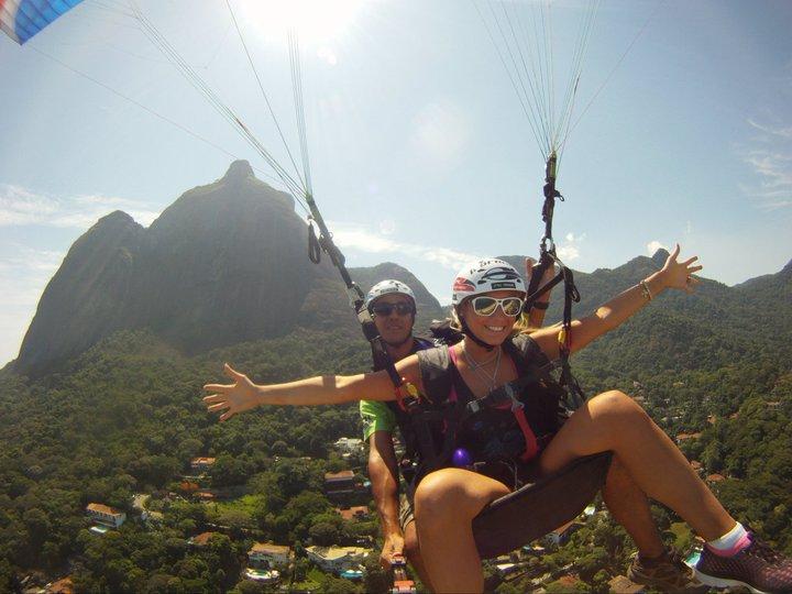 Asa Delta e Parapente Rio Brasil ActionFly