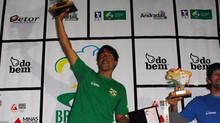 Érico Oliveira é o campeão da última etapa do Campeonato Brasileiro.