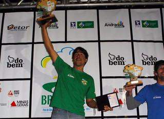 Érico Oliveira é o campeão da última etapa do Campeonato Brasileiro 2017.