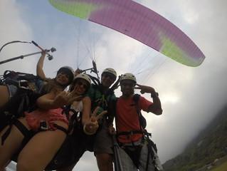 Trabalho do Dia com os pilotos Índio e Érico da Equipe ActionFly Voo Livre Rio de Janeiro