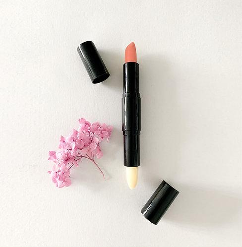 Colored Lip Balm & Geranium Disinfection Double Lip Balm 潤色及天竺葵抗菌雙頭潤唇膏