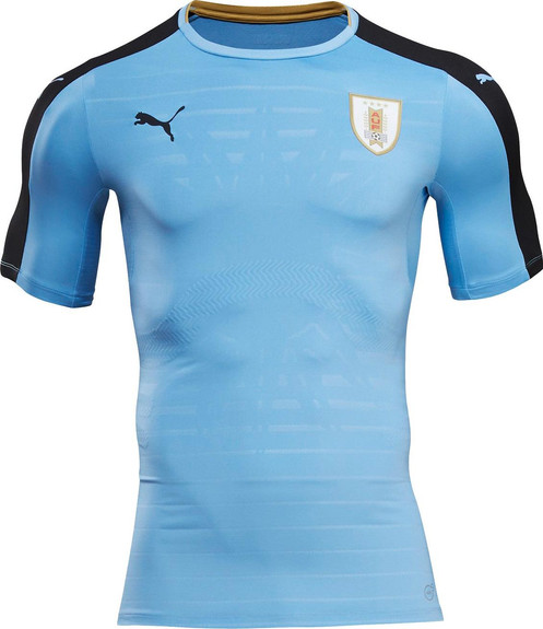 new product ecd21 020e4 Uruguay National Team Home Kit 16/17