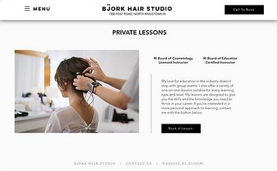 Bjork Hair Studio