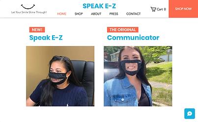 The Speak E-Z Mask