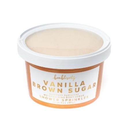 Shower Sprinkles Body Scrub - Vanilla Brown Sugar