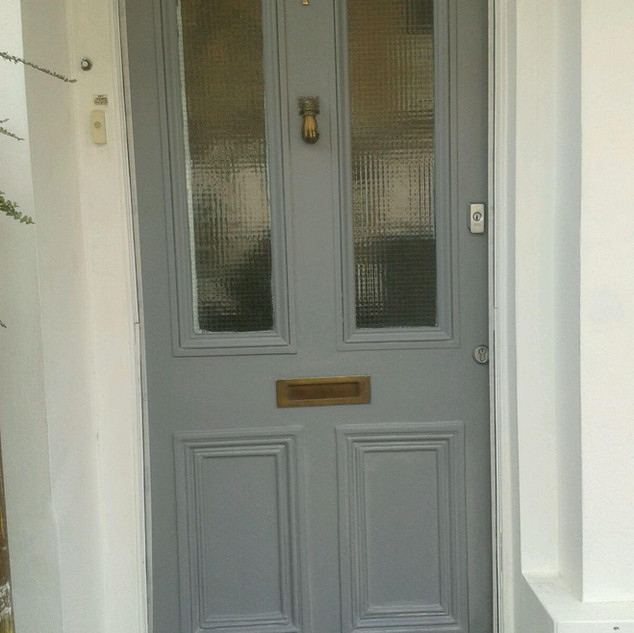 Exterior front door