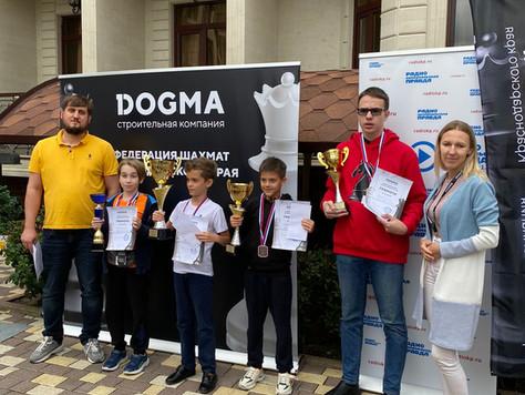 "Турнир DOGMA по шахматам, с. Дивноморское, гостиница ""Карс"" 22 - 26 сентября 2021 год"