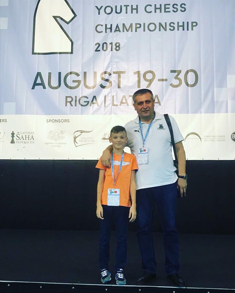 Коблов Егор и Надырханов Сергей, Рига, Латвия, август 2018 год.