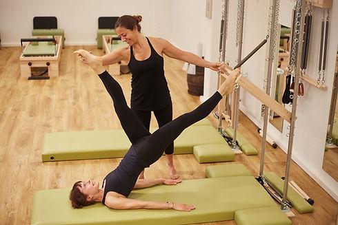 Pilates teacher training equipment